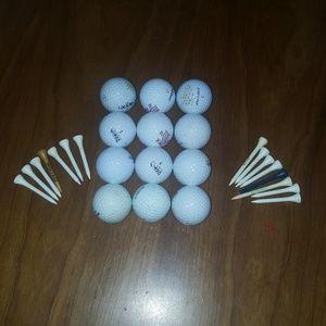 Golf Balls & Tee's Lot